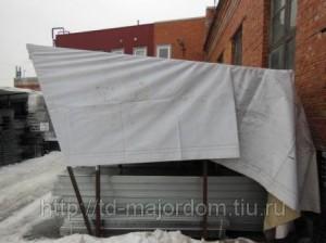 Баннер ПВХ б/у 500 г/м 3,4х4,7м