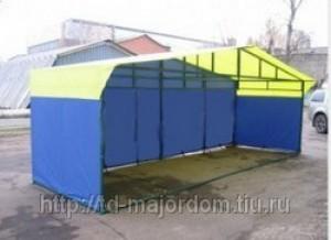 Палатка торговая, разборная «Домик» 6х2